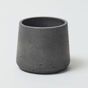 Curved Fibre Clay Black 0285