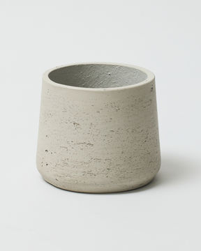 Curved Fibre Clay Stone 0289