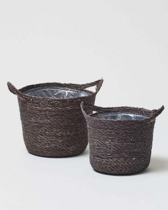 Otto plant pot grey